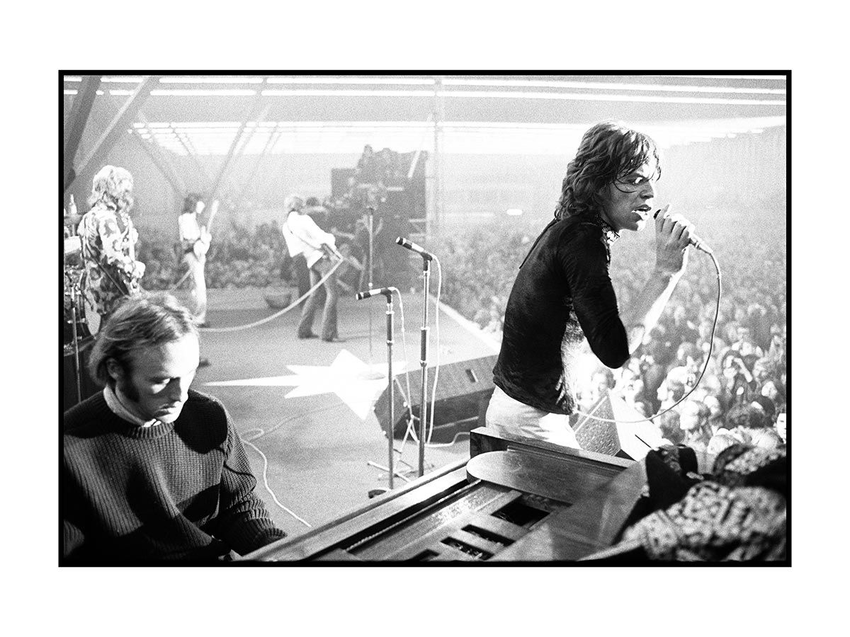 The Rolling Stones and Stephen Stills, Amsterdam, 1970