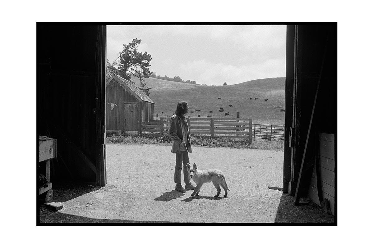 Neil Young, Broken Arrow Ranch, Half Moon Bay, CA, 1971