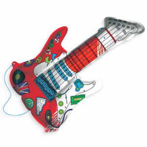 3D Colorable - Rockin' Guitar