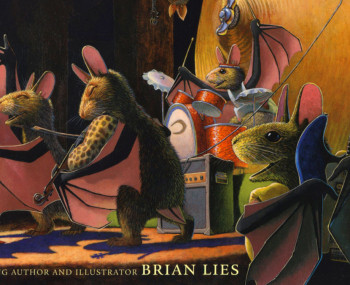 "MoMM@Home: Musical Storytime — ""Bats in the Band"" with Author & Illustrator Brian Lies Artist Photo"