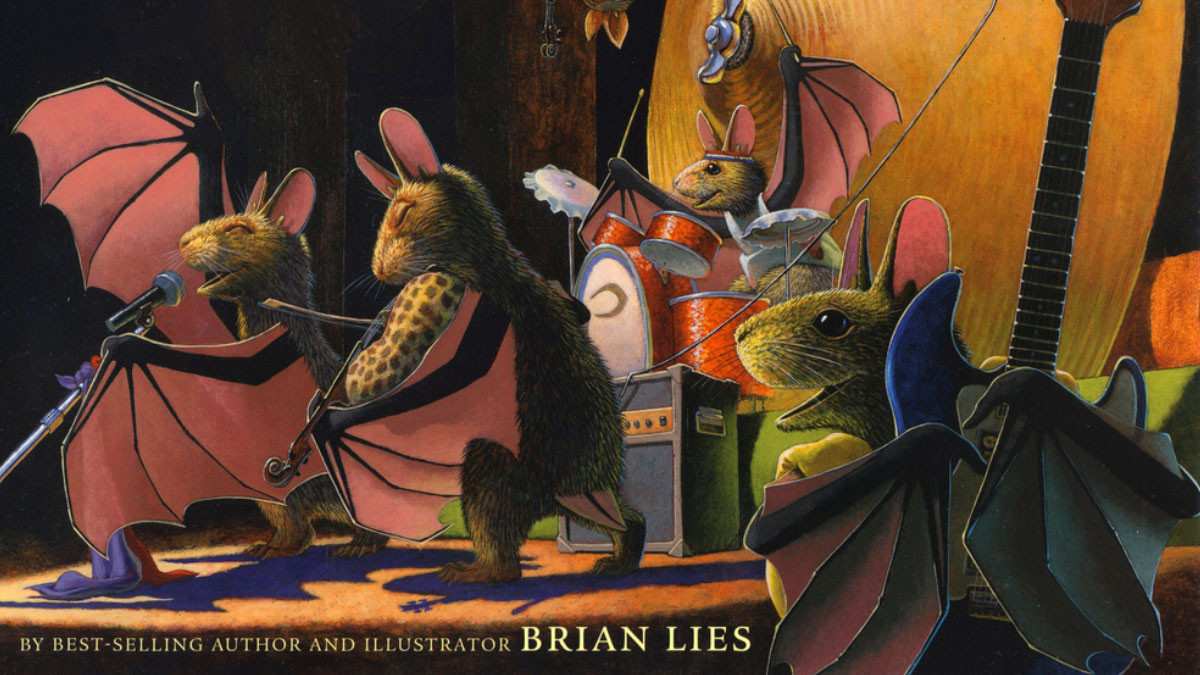 "MoMM@Home: Musical Storytime — ""Bats in the Band"" with Author & Illustrator Brian Lies"