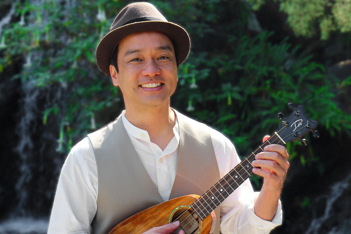 December 4 @ 2:00 PM (PDT)   MoMM@Home: Daniel Ho - The Ukulele!