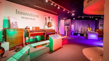 An image of Gallery 3 Musical Innovations in the Museum of Making Music