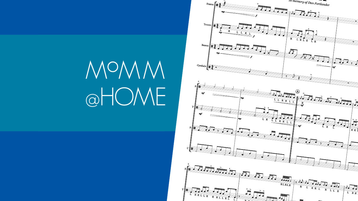 MoMM@Home: Creator Corner - Putting Notes on a Page