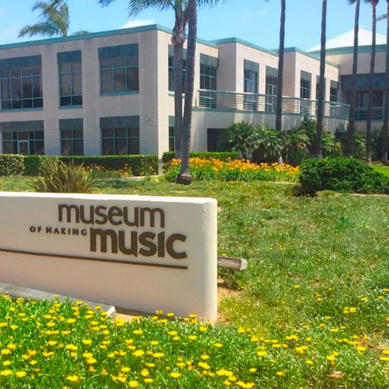 The Museum of Making Music promotes and celebrates the power of music making in our lives.